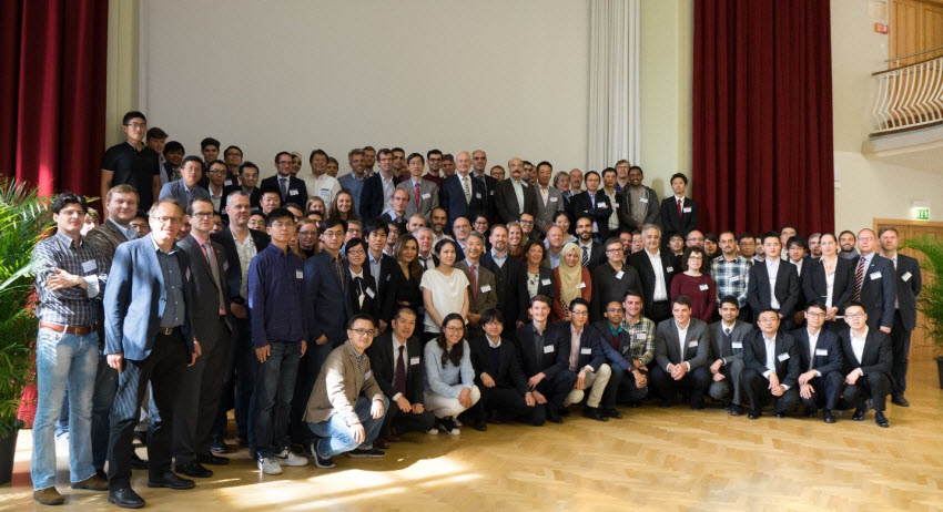 Group photo of the participants of the Fourth International Rilem Conference on Strain-Hardening Cement-based Composites - SHCC 4