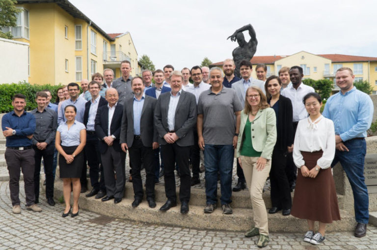 Group Photo of the Participants of the second GRK 2250/1 Summer School in Radebeul