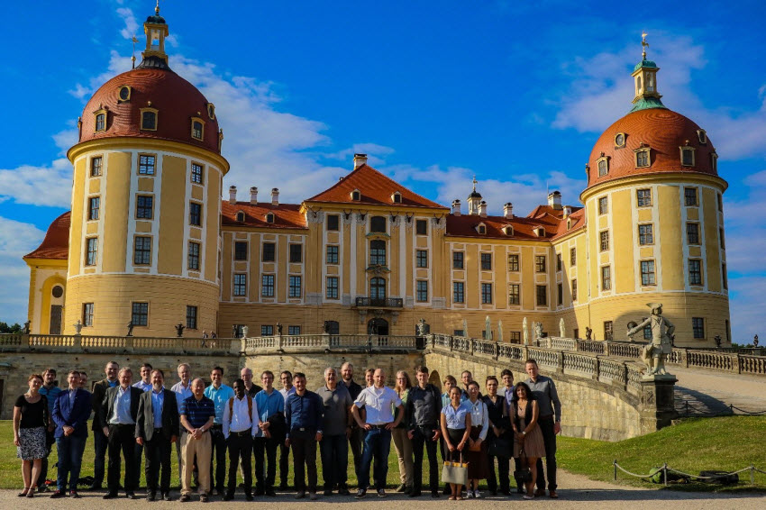 Group Photo of the Participants of the second GRK 2250/1 Summer School in Moritzburg