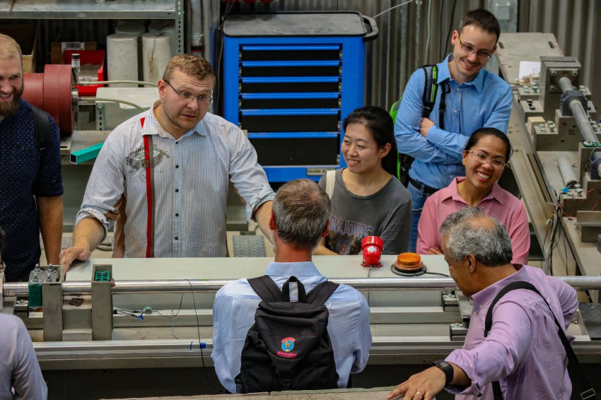 Lab tour of the second GRK 2250/1 participants in the Otto-Mohr lab