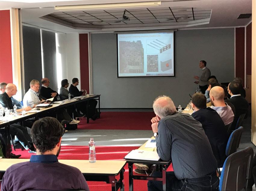 Presentation session during the winter workshop in Spindleruv Mlyn