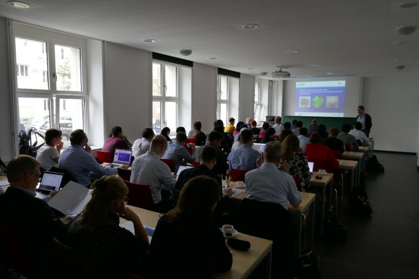 Participants of the GRK 2250/1 International Summer School in a lecture session