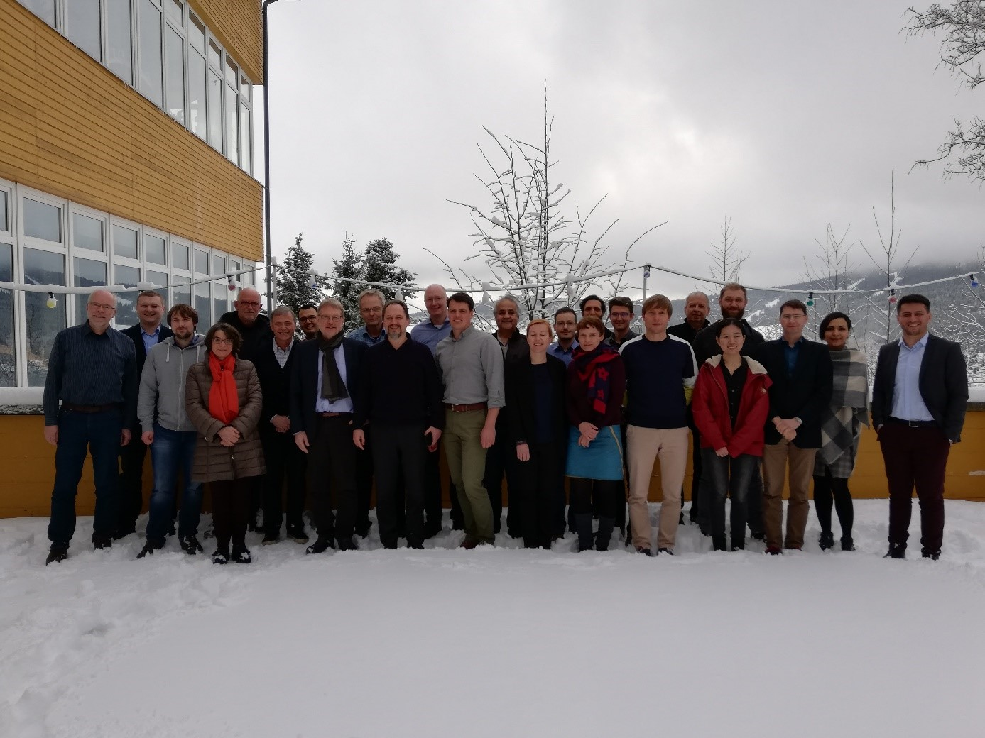 Group photo with the participants of the last GRK 2250/1 winter workshop
