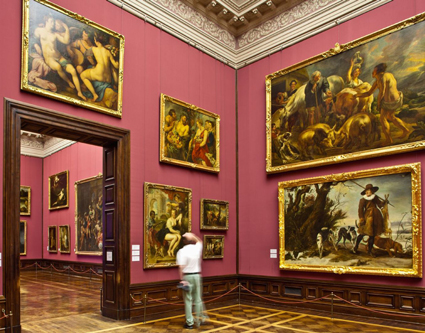 Painting gallery old masters of Dresden