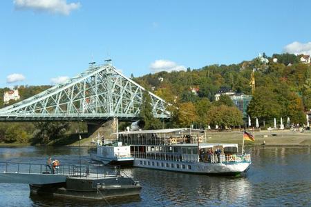 Loschwitz Bridge Blaues Wunder