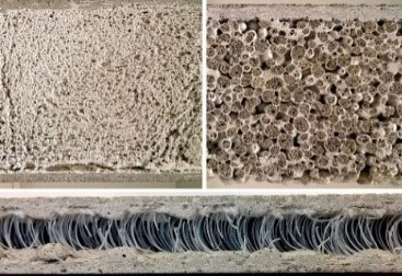 : mineral-bonded composites of various compositions as potential materials for damping layers