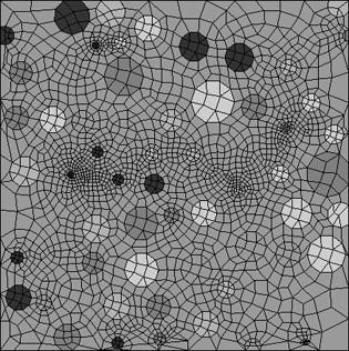 Finite Element discretization with explicit aggregate representation