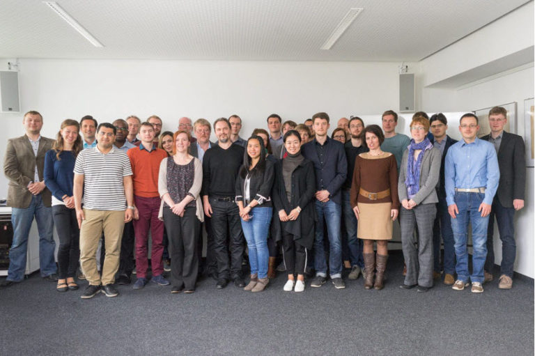 Group Photo of the GRK 2250/1 during the kick-off meeting